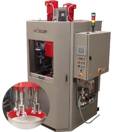 Rosler Metal FInishing R-SF mini-drag machine