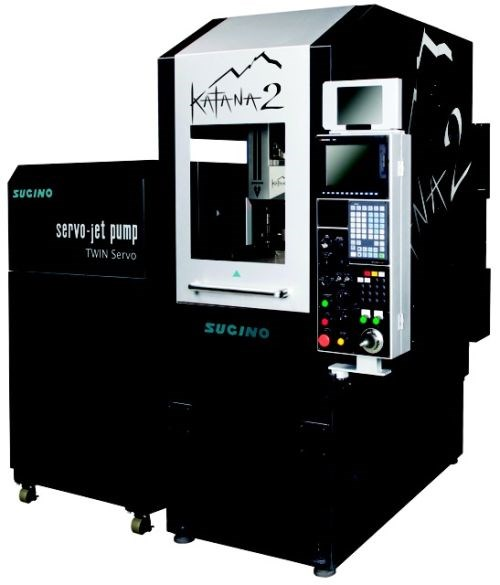 Sugino Katana2 waterjet cutting system