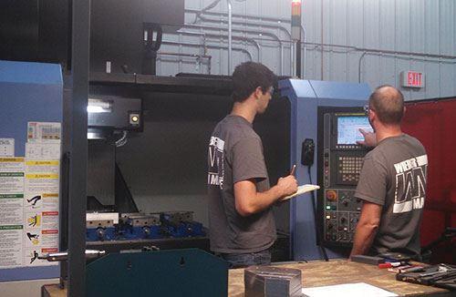 Wieber Machine machiner operators