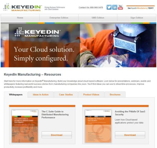 KeyedIn Solutions online technology resources