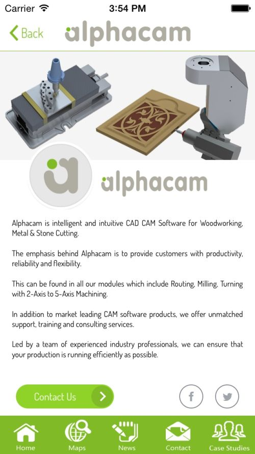 Alphacam app