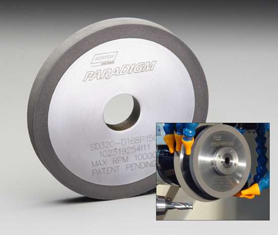 Norton Abrasives Paradigm diamond wheels