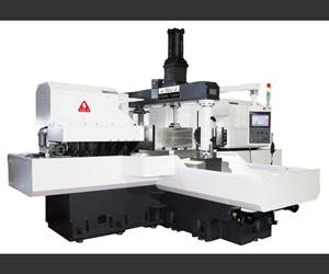 Twin Milling Heads Enable Two-, Four-, Six-Sided Machining