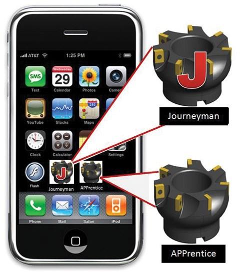 Machining app for iphone