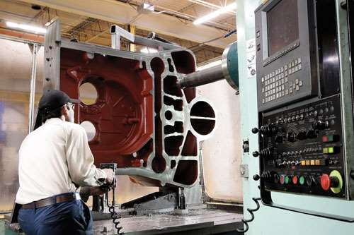 large-part machining