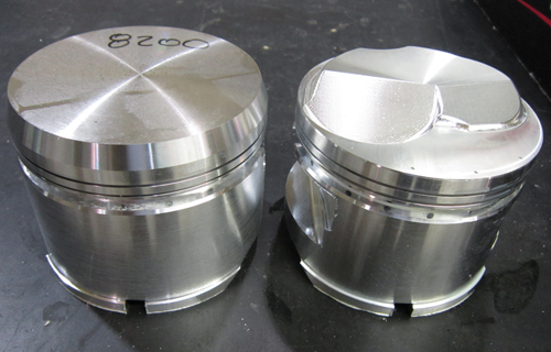 diamond racing piston