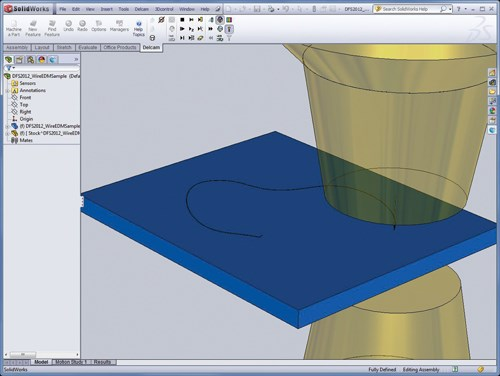 2012 version of Delcam for SolidWorks