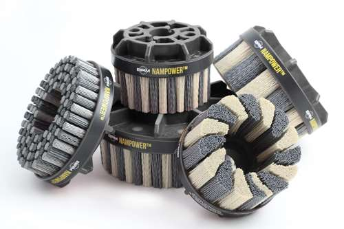 Brush Research Manufacturing Nampower abrasive disc brushes