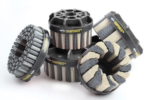 Brush Research Manufacturing Nampower abrasive disc brushes