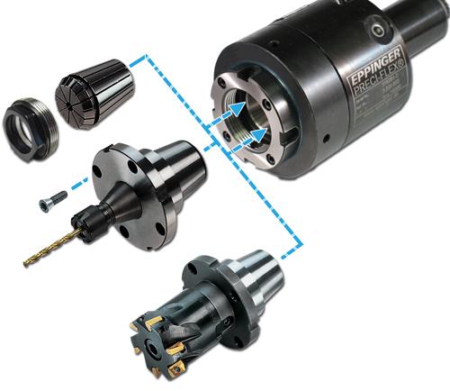Exsys Tool Preci-Flex tooling adapters