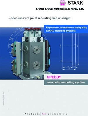 Stark zero-point mounting system from Carr Lane Roemheld