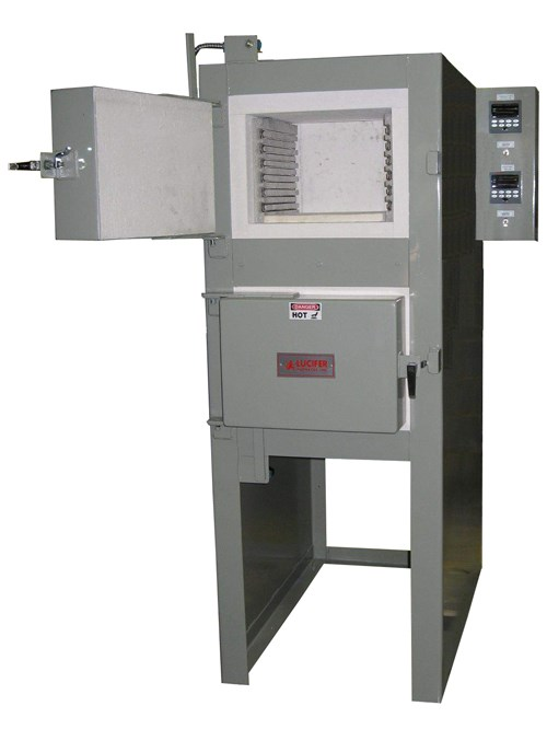Lucifer Furnaces RD8-H14 Red Devil dual-chamber heat-treating furnace