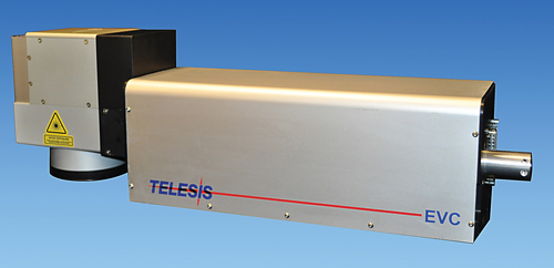 Telesis Technologies' EVC diode-pumped laser marking system
