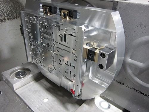 Haas rotary table