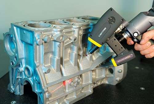 Nikon Metrology's MMCx80 ModelMaker scanner