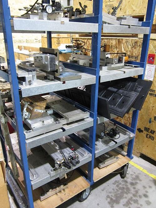 job-specific fixtures for machining