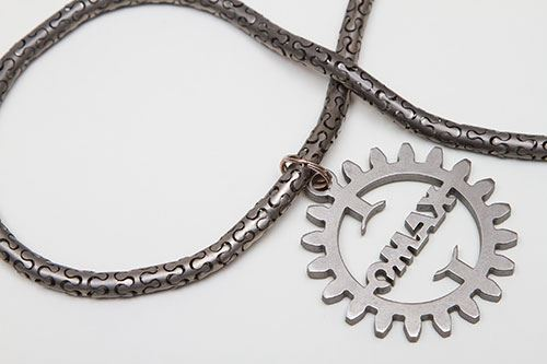titanium necklace
