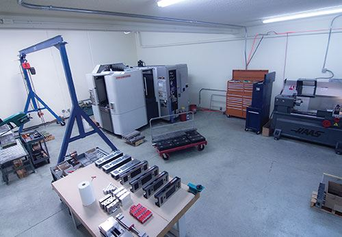 lathes on a small workfloor