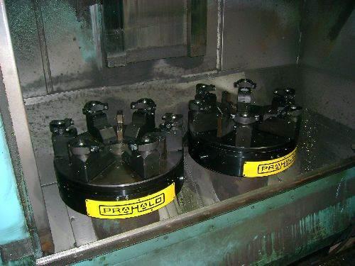 American Workholding Prohold hydraulic chucks