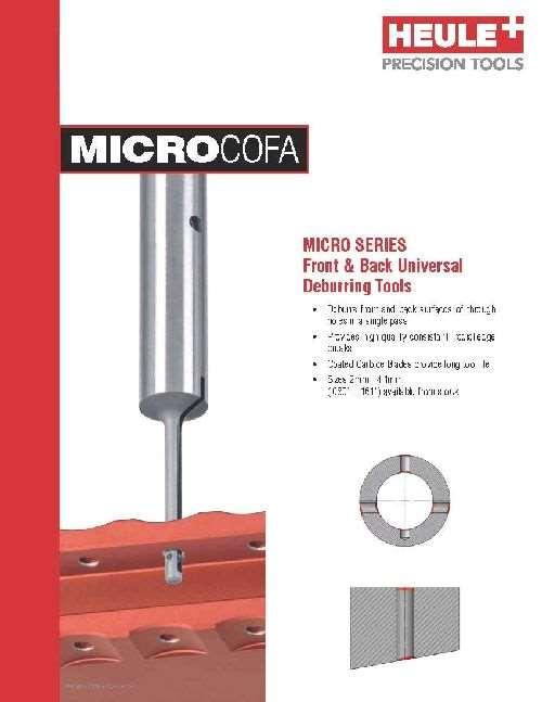 Heule Micro Cofa series catalog