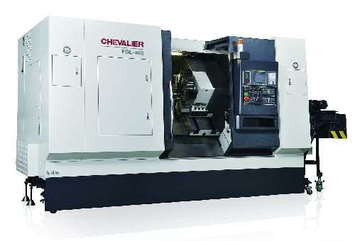 Chevalier FBL-460 vertical turning center