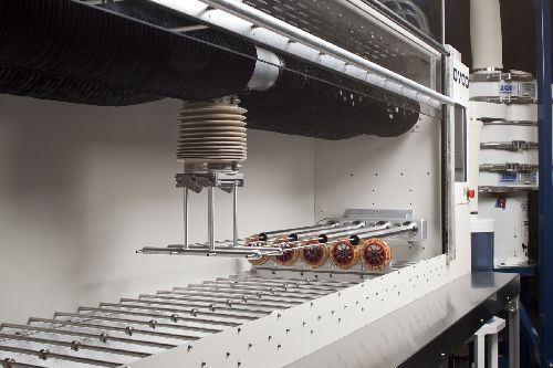 Comco precision shot peening system
