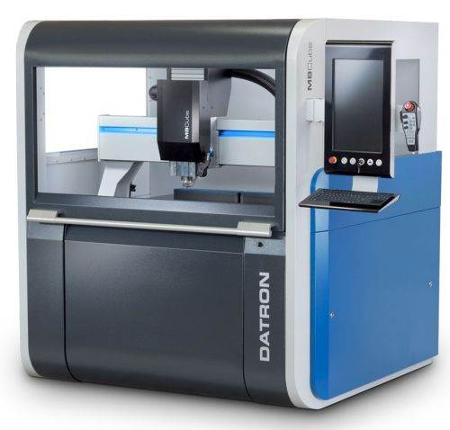 M8 Cube high speed vertical machining center from Datron Dynamics