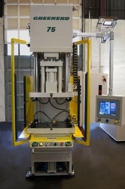 Greenerd's 75-ton hydraulic forming press