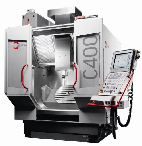 Hermle C 400 five-axis machining center
