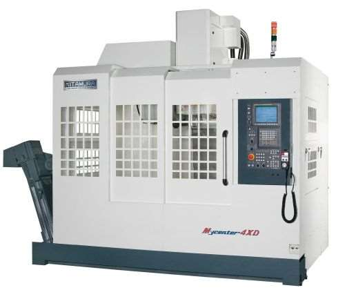 Kitamura's Mycenter-4XD high-capacity vertical machining center