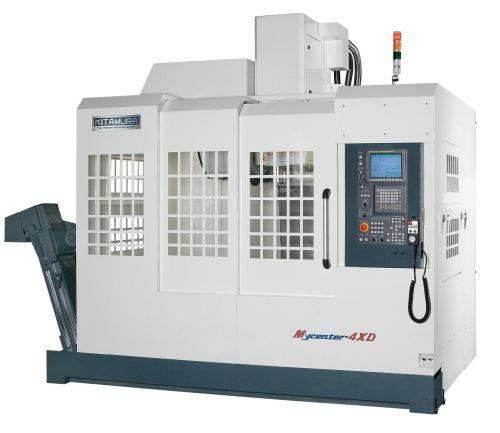 Kitamura's Mycenter-4XD high-capacity vertical machining center