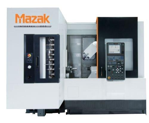Integrex j-200 multitasking machine features Mazak's Matrix Nexus CNC