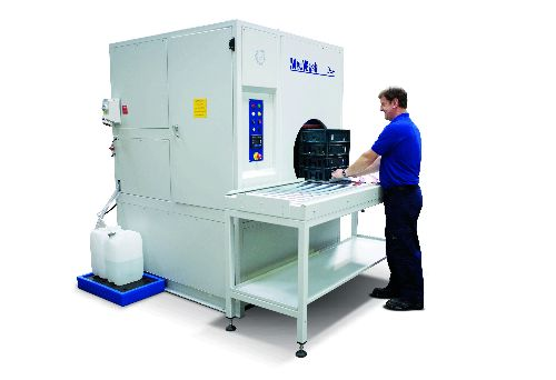 MecWash Systems' Duo 400 aqueous cleaning system