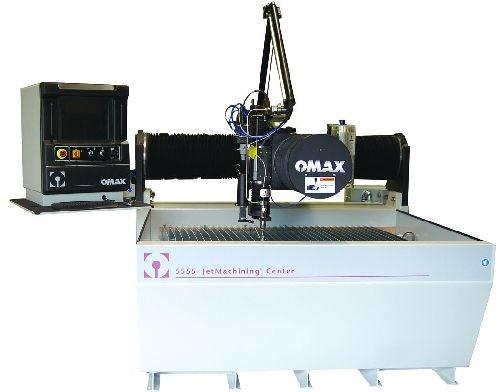 Omax 5555 JetMachining center