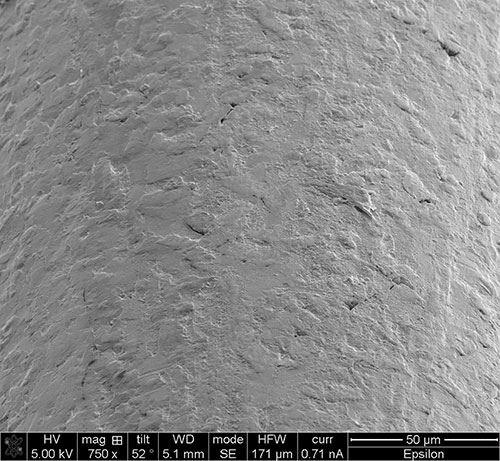 Micro-graph of Epsilon wire