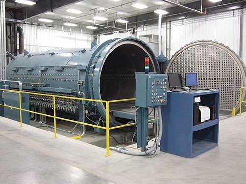 Royal Engineered Composites' autoclave