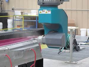 flow waterjet Royal Composites'