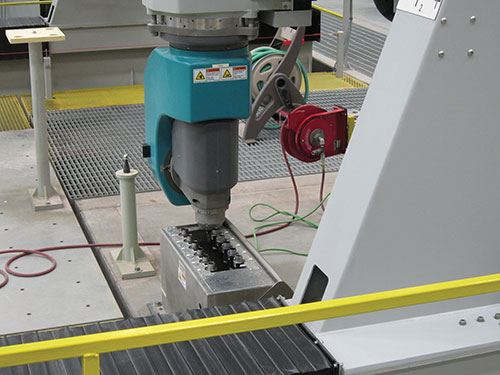 CMC's 25,000-rpm milling spindle