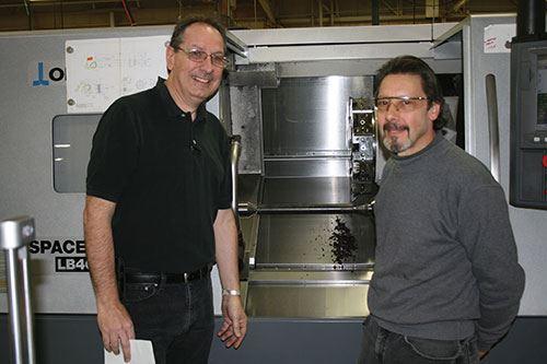 Jim Spagnola and Paul Fazekas