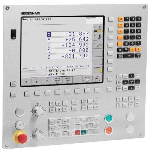 Heidenhain TNC 128 straight-cut CNC