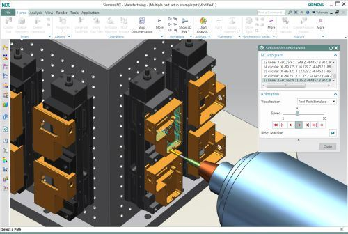 Siemens PLM Software NX CAM 9  software
