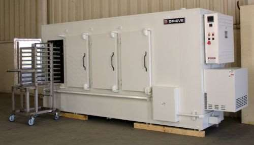 Grieve No. 1011 four-door cabinet oven