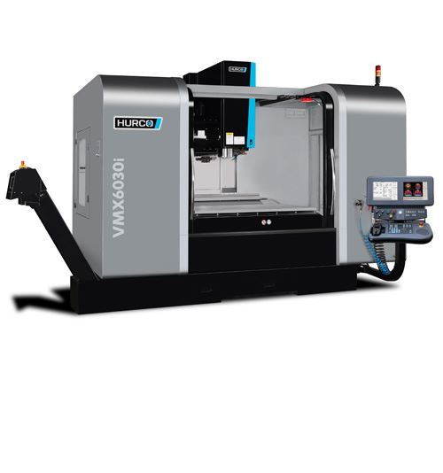 Hurco's VMX6030i vertical machining center is based on its VMX64, but with a smaller footprint. Intended for moldmaking applications, the VMC features a 66.14