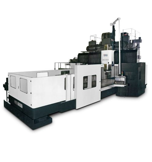 Available from YMT, the KaoMing EP series Plano vertical machining center is capable of handling oversized, heavy workpieces for the aerospace and die/mold industries. The VMC features a moveable crossbeam W axis with clamping on both sides to ensure accuracy during heavy cutting.