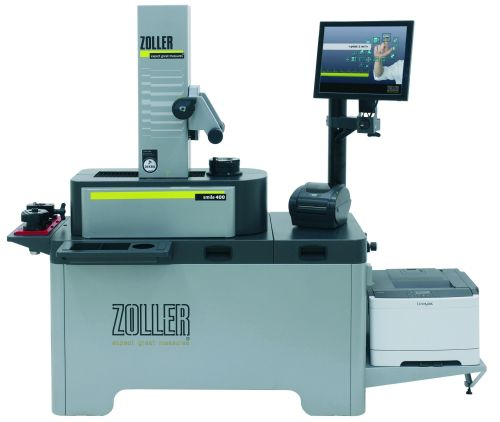 Zoller Smile presetter and measurement machine