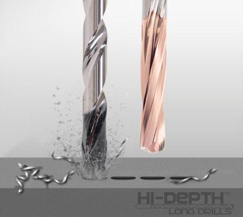 Precision Cutting Tools solid carbide Hi-Depth long drills
