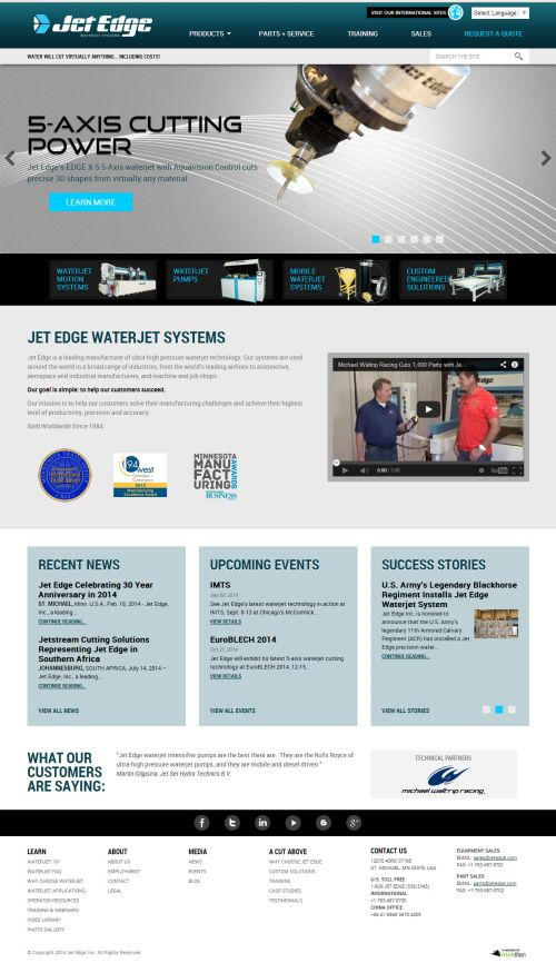 Jet Edge resource center