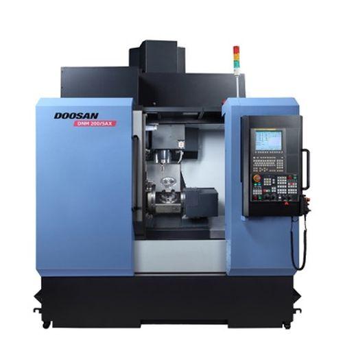 Doosan DNM 200/5AX five-axis VMC