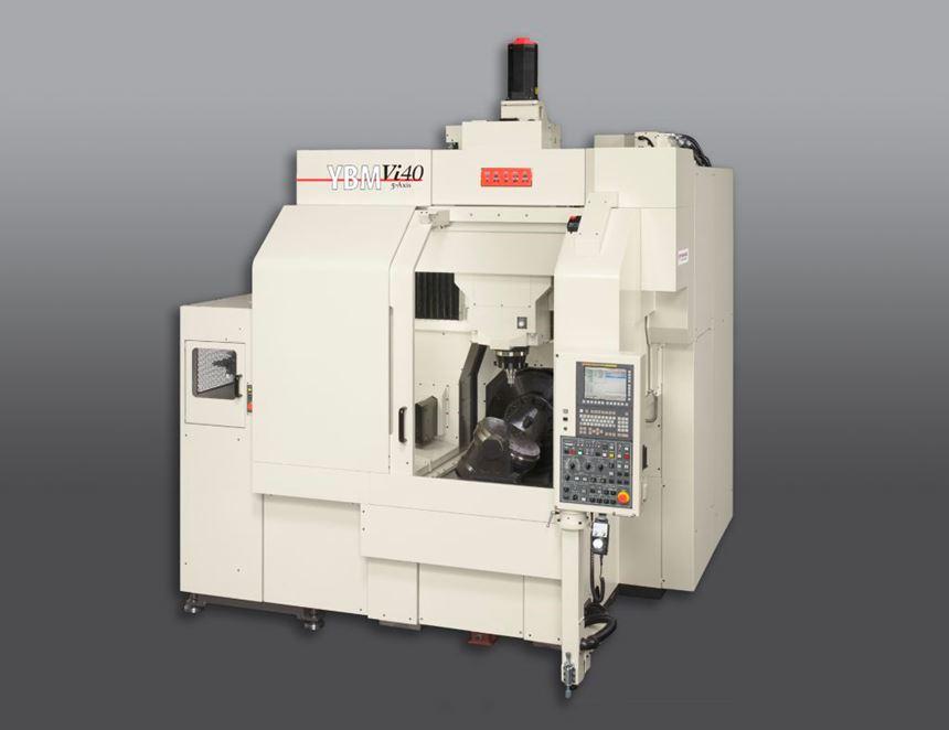 Methods Machine Tools Yasda YBM Vi40 five-axis boring and milling machine