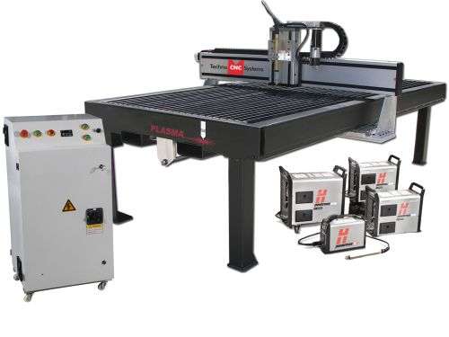 Techno CNC Systems HPLC plasma cutter